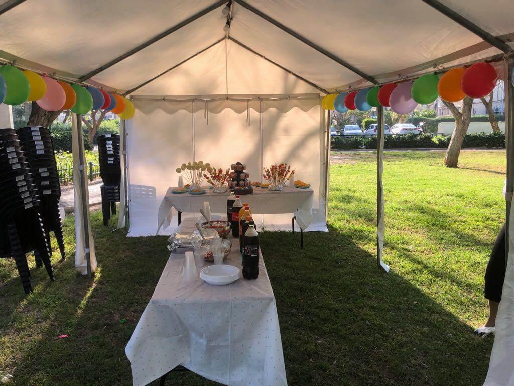 אוהל ליום הולדת - אוהלי נועם