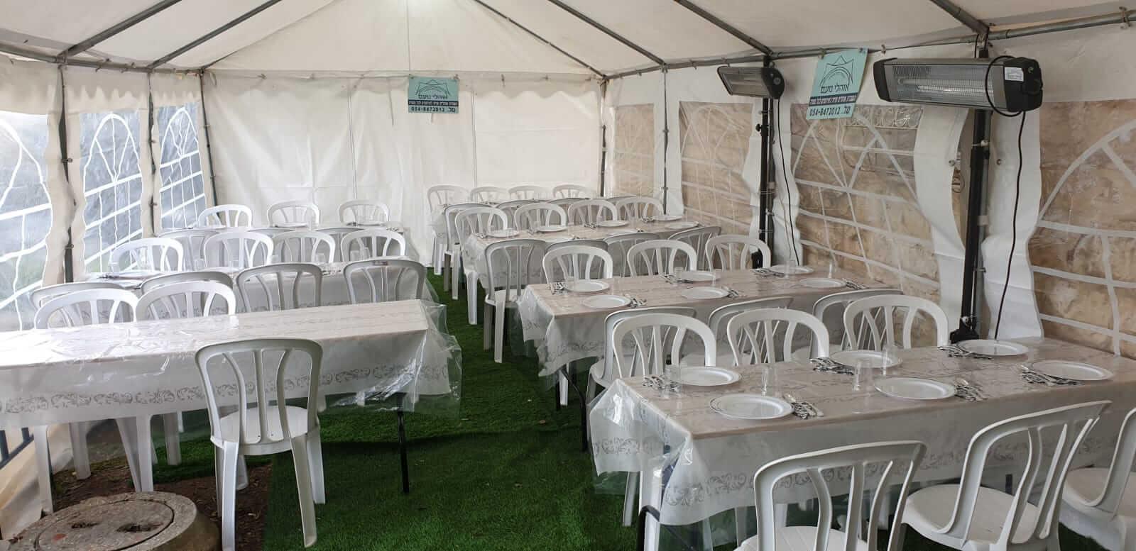 השכרת אוהל אבלים במזכרת בתיה