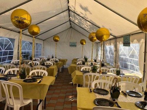 אוהלי נועם - אוהלים לשבת חתן