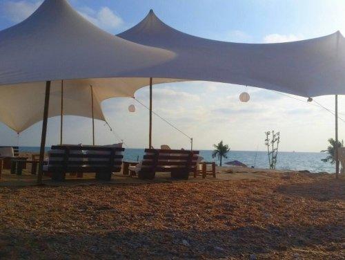 השכרת אוהל לים הפקת אירוע בים אוהלי נועם-1